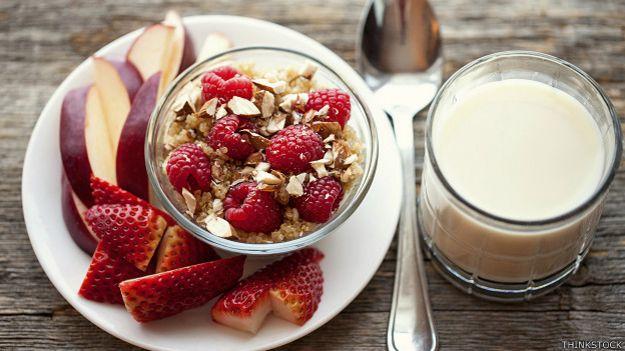 Quinoa al desayuno