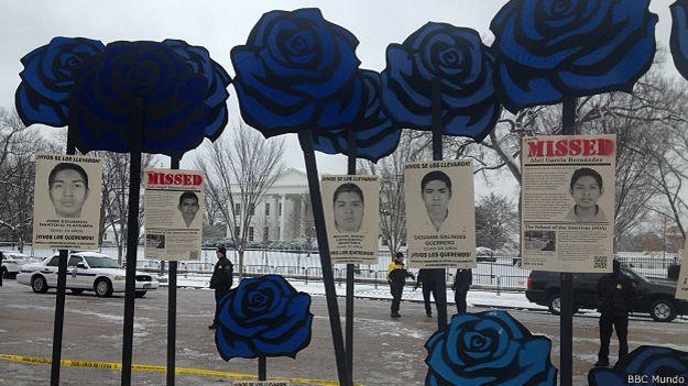 protesta Casa Blanca