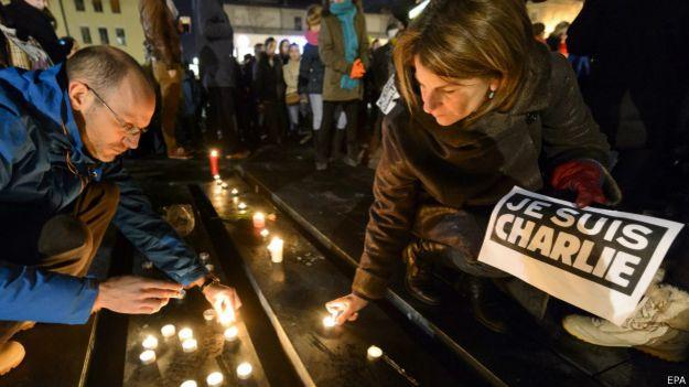 Свечки в память о погибших