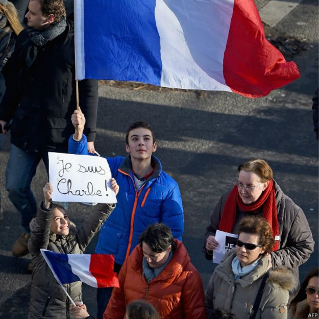 Marcha por Paris