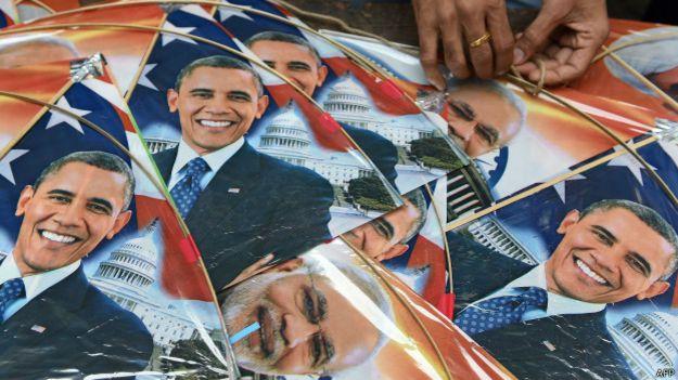 बराक ओबामा, अमरीका, भारत यात्रा