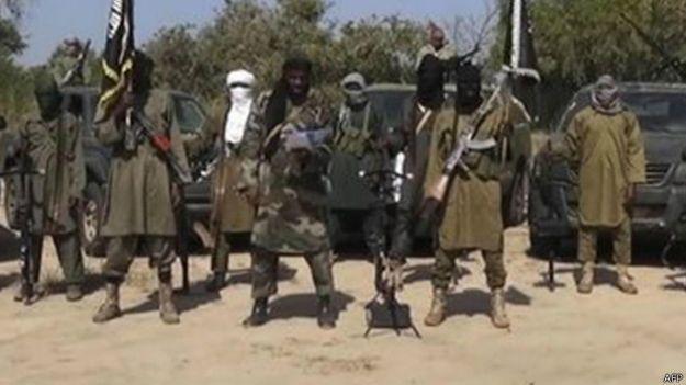 Militantes do Boko Haram (Foto: AFP)