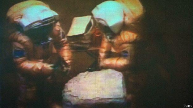 Участники эксперимента Марс-500