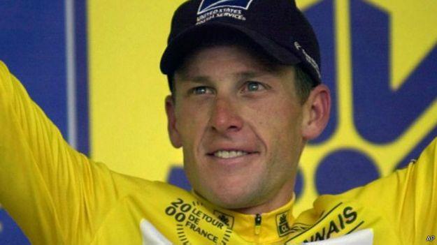 Lance Armstrong / Crédito: AP