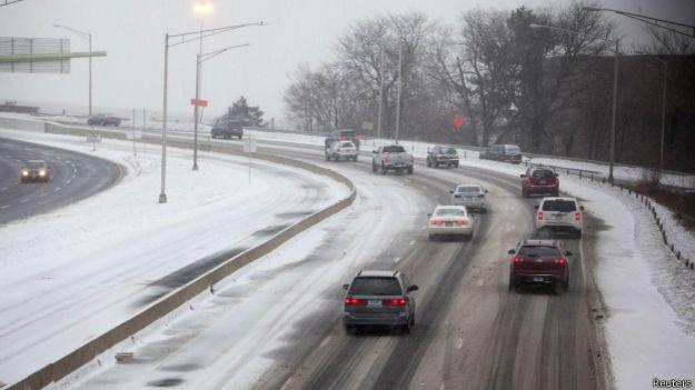 Bão tuyết đổ xuống vùng Connecticut