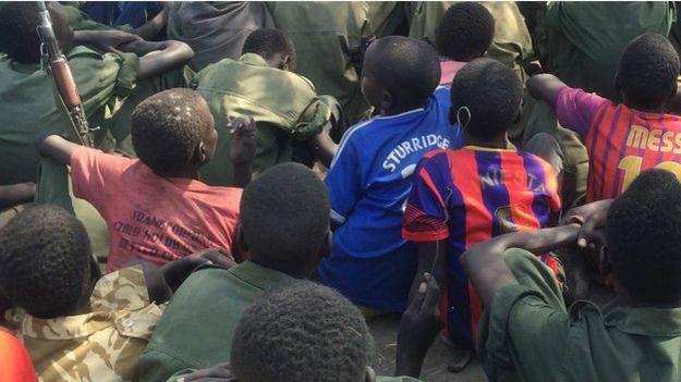 Soldados infantis no Sudão do Sul