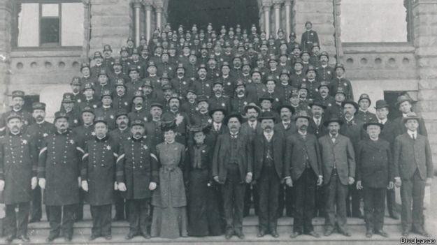Polícia de Los Angeles em 1904 | Foto: Divulgação