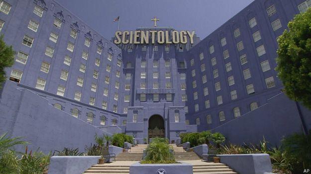 Sede de la Iglesia de la Cienciología en Los Ángeles