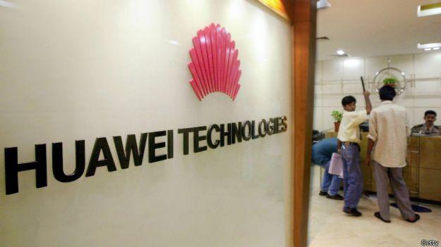 Las oficinas de Huawei