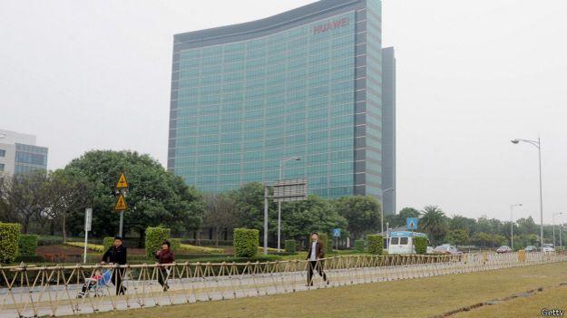 La sede de Huawei, en China