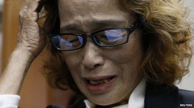 Mẹ của nhà báo Kenji Goto