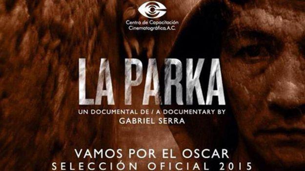 Fragmento del poster promocional de La Parka