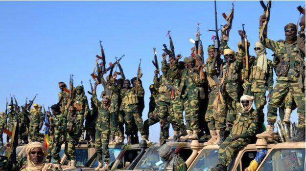 नाइजीरिया पहुंचे चाड के सैनिक