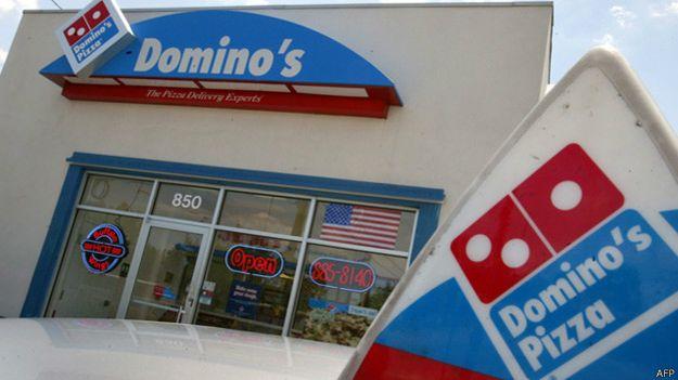 Loja da Domino's | Foto: AFP
