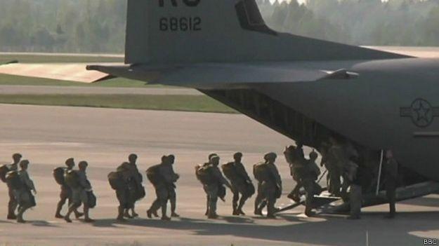 Efectivos de la OTAN