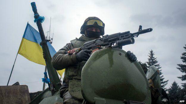 Солдат на танке