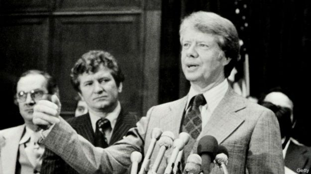 Jimmy Carter en 1976