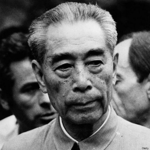 Zhou Enlai, en una foto de 1972