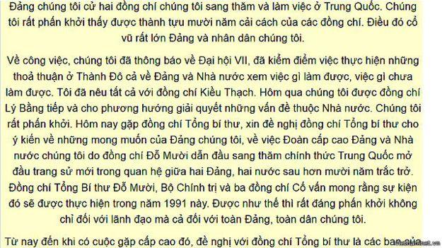 Tư liệu trên Việt Nam Net