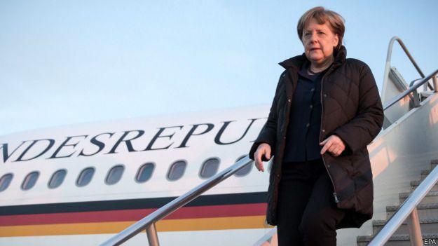 Ангела Меркель в Вашингтоне