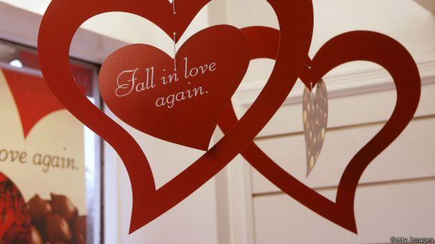 Реклама ко дню Св. Валентина