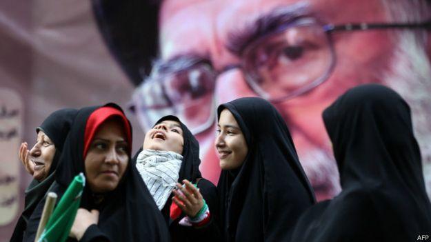 Mujeres en Teherán, Irán