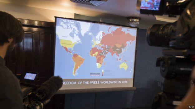 "Презентация рейтинга ""Репортеров без границ"""