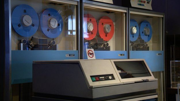 Computador antigo   Foto: BBC