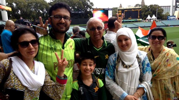 भारत और पाकिस्तान के क्रिकेट प्रशंसक
