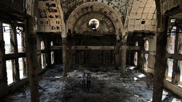 Ataque contra iglesia Amba Moussa en Minia en 2013