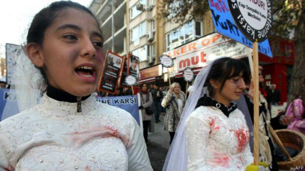 Protesto na Turquia | Foto: AFP