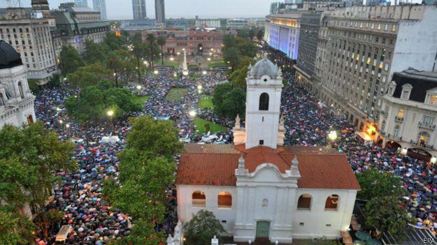 argentina, marcha