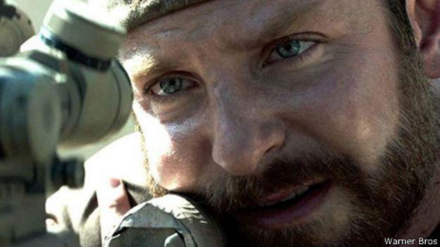 Bradley Cooper em 'Sniper Americano'