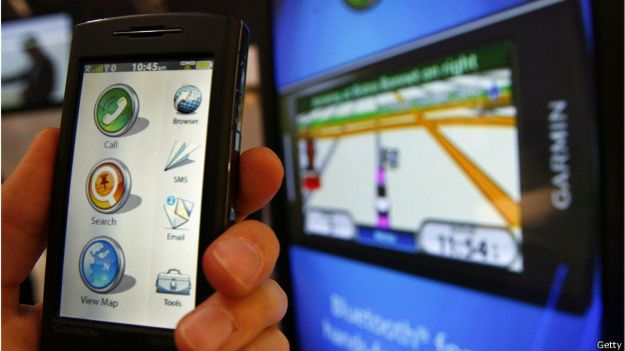 Teléfono móvil y GPS