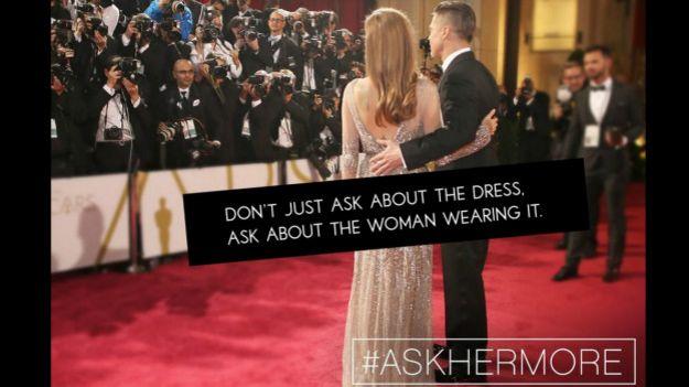 Campanha #AskHerMore