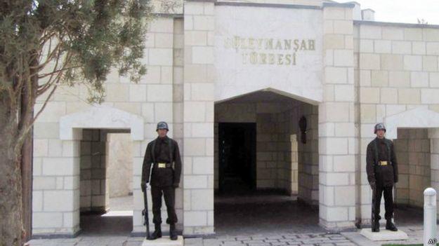 Могила Сулеймана Шаха