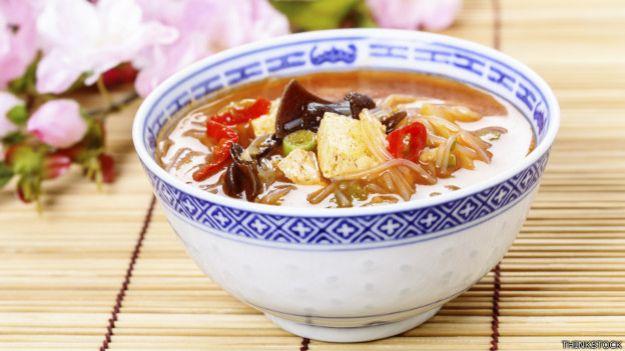 Plato de comida china