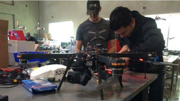 Oficina da 3D Robotics