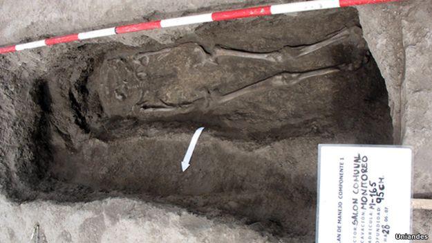 Huesos muiscas en Tibanica, Soacha