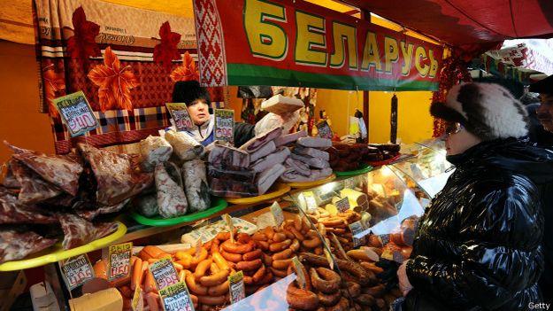 Мясные продукты и Белоруссии