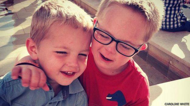 Seb y su hermano
