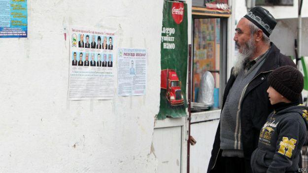 Выборы в Таждикистане