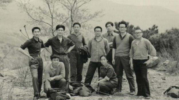 左四是陈子明