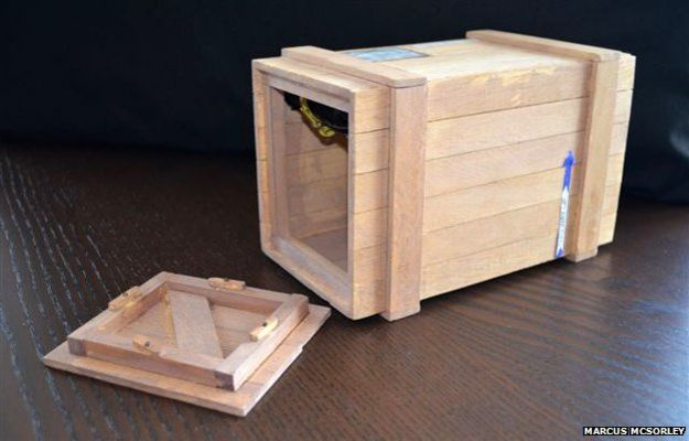модель ящика