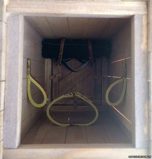 Внутри ящика