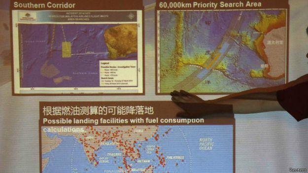 mapa sobre el area de busqueda