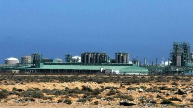 Нефтяное месторождение в Ливии