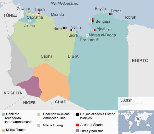Seguimiento a ofensiva del Estado Islamico. - Página 6 150313162508_libia_mapa_esp