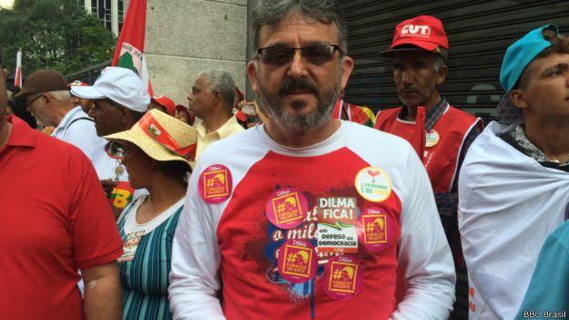 Manifestação em São Paulo, dia 13 de março de 2015 | Foto: BBC Brasil