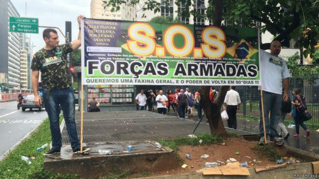 Manifestação dos Revoltados On Line em São Paulo, dia 13 de março de 2015 | Foto: BBC Brasil